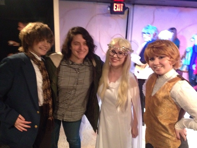 Photo of group of <em>The Lord of the Rings</em> cosplay